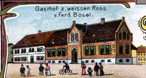 """Gasthof zum \""""weißen Roß\"""""""