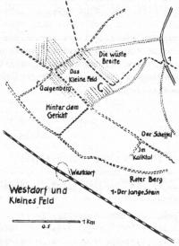 Lage des Westdorfes