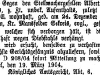 Steckbrief von Albert Richard Danders 1904