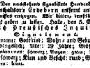 Steckbrief von Gottfried Müller 1839