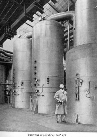 Zuckerfabrik 1865-1940 - Druckverdampfstation
