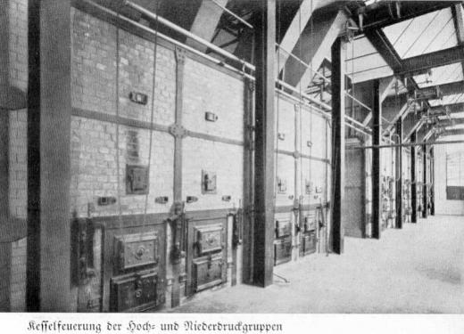 Zuckerfabrik 1865-1940 - Kesselfeuerung