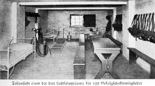 Zuckerfabrik 1865-1940 - Luftschutzraum