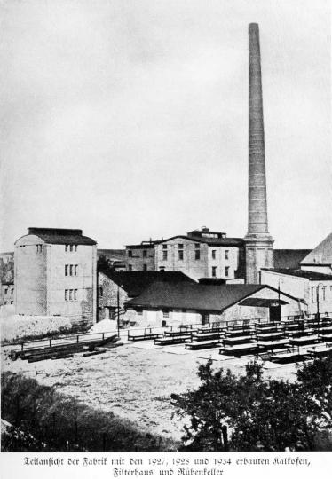 Zuckerfabrik 1865-1940 - Teilansicht der Fabrik