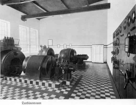 Zuckerfabrik 1865-1940 - Turbinenraum