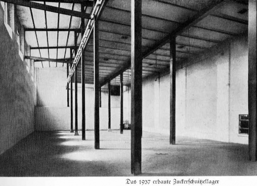 Zuckerfabrik 1865-1940 - Zuckerschnitzellager