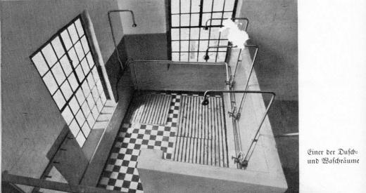 Zuckerfabrik 1865-1940 - Dusch- und Waschraum