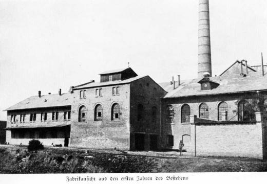 Zuckerfabrik 1865-1940 - Fabrikansicht aus den ersten Jahren