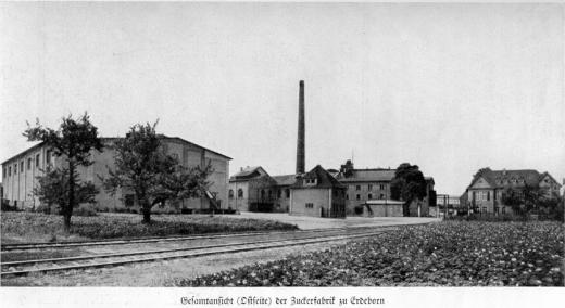Zuckerfabrik 1865-1940 - Gesamtansicht Ostseite