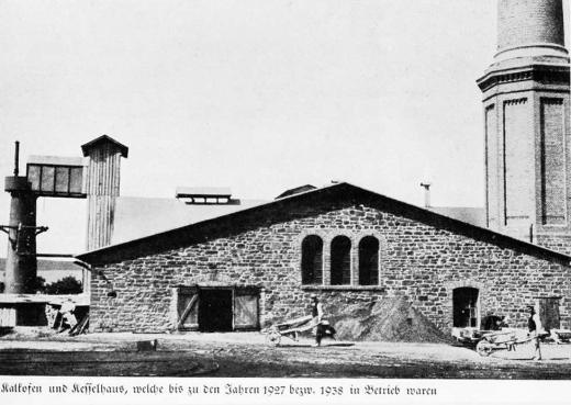 Zuckerfabrik 1865-1940 - Kalkofen und Kesselhaus