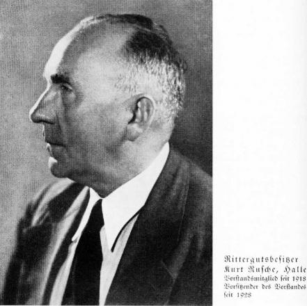 Zuckerfabrik 1865-1940 - Rittergutsbesitzer Rusche