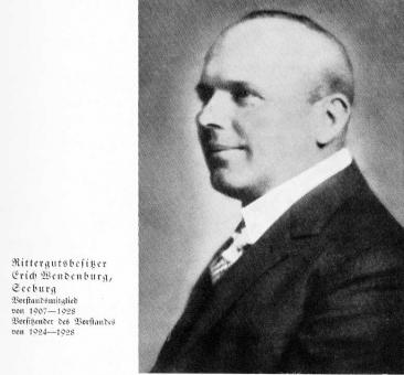 Zuckerfabrik 1865-1940 - Rittergutsbesitzer Wendenburg