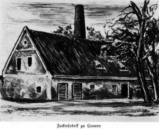 Zuckerfabrik 1865-1940 - Zuckerfabrik Cunern